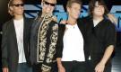 Alex Van Halen, David Lee Roth, Eddie Van Halen e e suo figlio Wolfgang. Quasi tutto in famiglia.